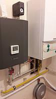 Произведен монтаж теплового насоса MyCond MHCS 020 AHB. Параллельно с газовым котлом.Клиент очень доволен.