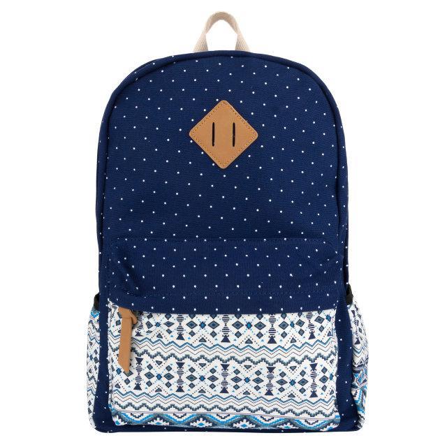 Молодежный рюкзак с орнаментом на кармане