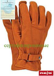 Защитные перчатки изготовленные из высококачественнного опойка RBNORTHPOLE BR