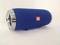Колонка JBL Charge 4 + с USB, SD, FM, Bluetooth, 2-динамиками и 2-сабвуферами