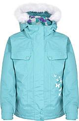 Куртка Trespass для девочки 9-10 лет, цвет бирюзовый