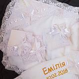 Комплект для крещения девочки Емилия, фото 2