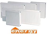 Стальной радиатор Energy тип 22 высота 500, низ.