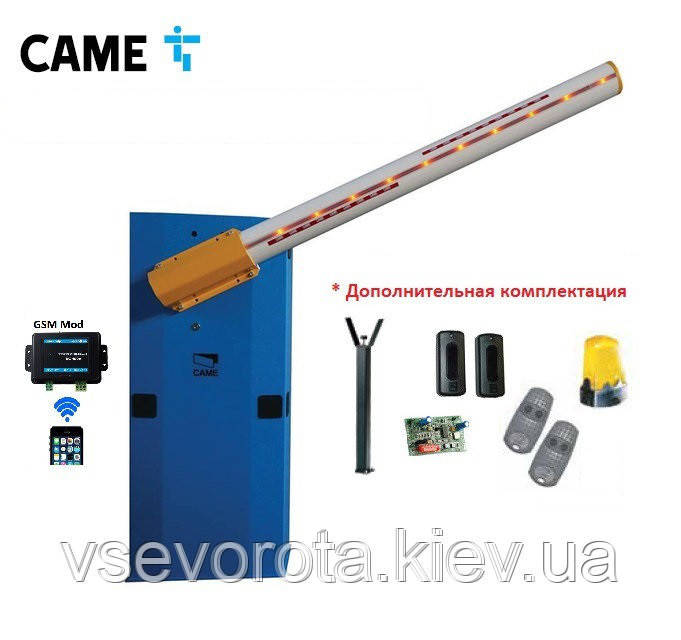 Шлагбаум автоматический CAME G 6500 6.5м