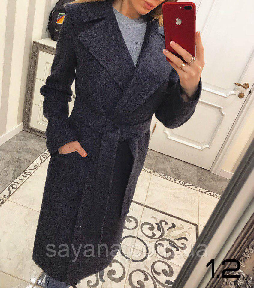 Женское демисезонное двубортное пальто, в моделях