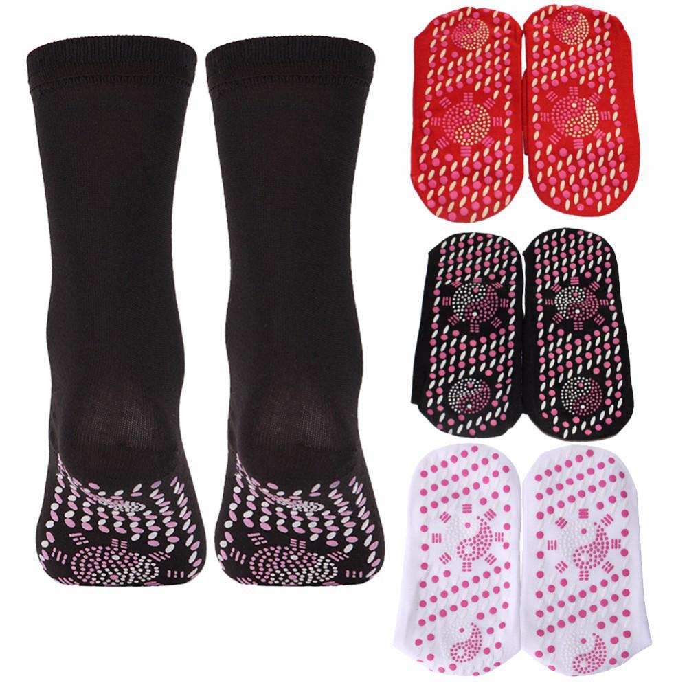 Турмалінові шкарпетки з масажною підошвою