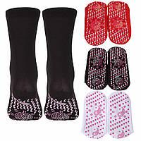 Турмалінові шкарпетки з масажною підошвою, фото 1