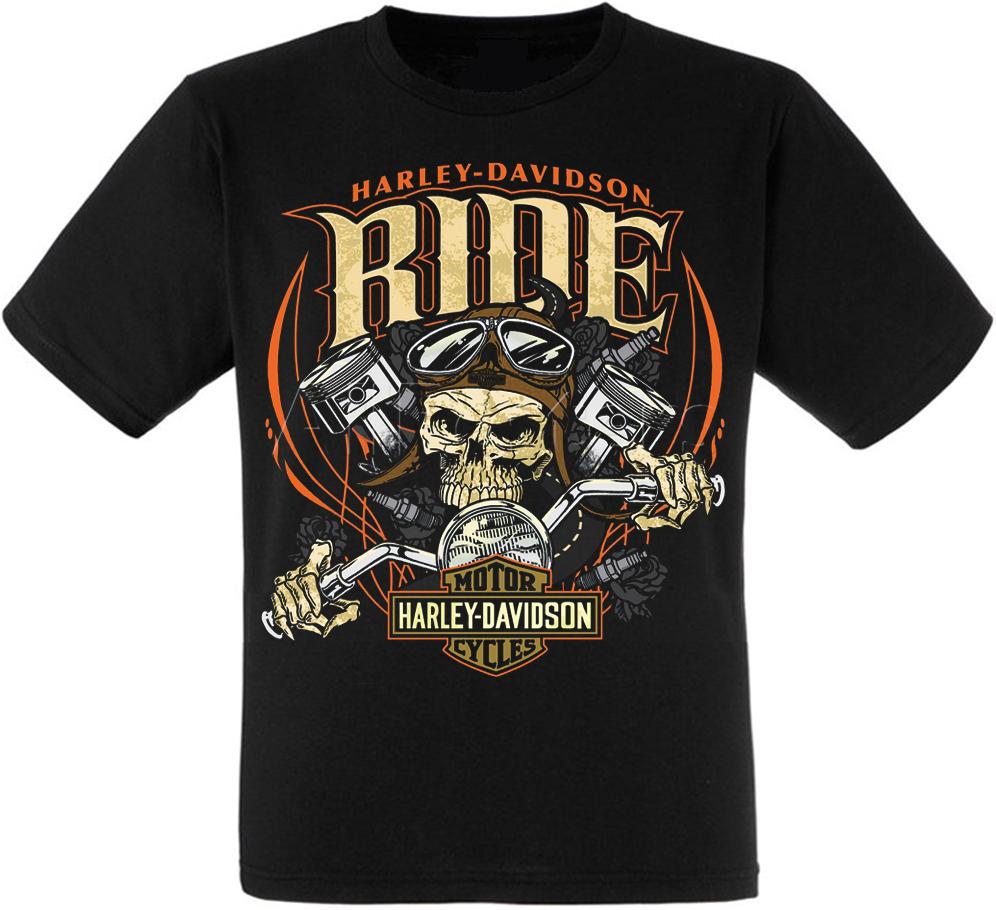 "Футболка Harley Davidson ""Ride"" XXL"