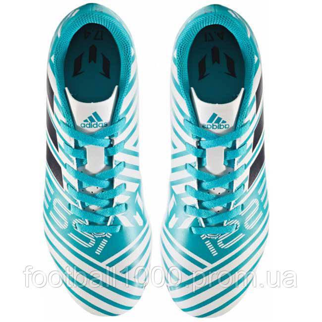 bb0c39af Детские футбольные бутсы Adidas Nemeziz Messi 17.4 FG S77201, ...