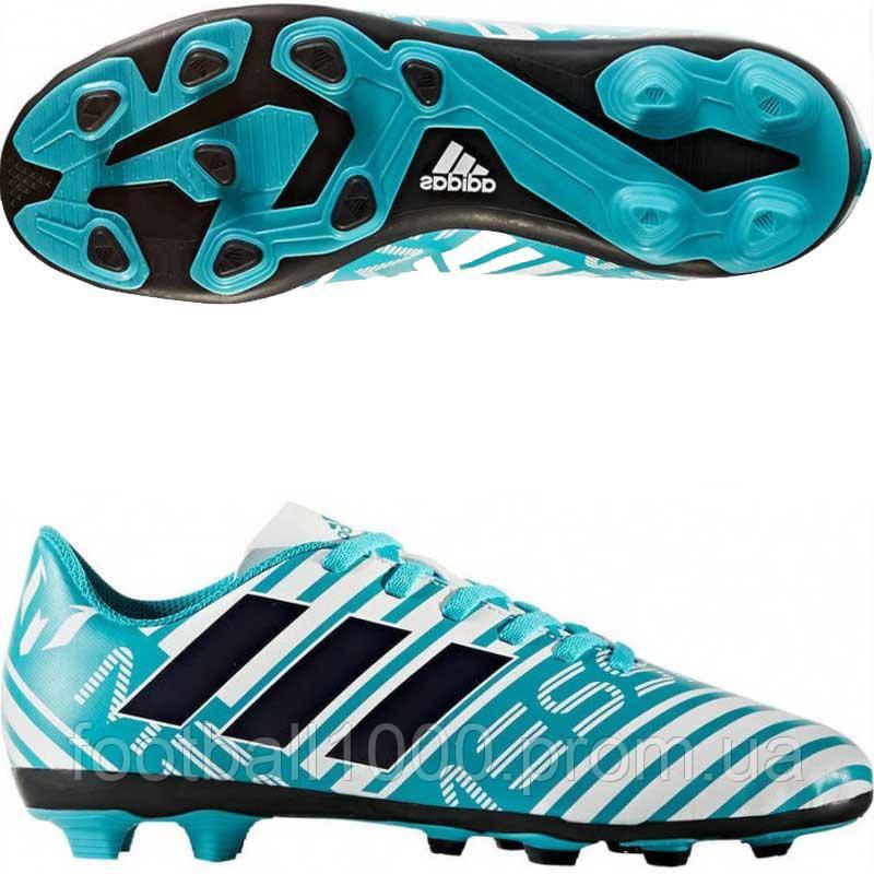 14829fd4 Детские футбольные бутсы Adidas Nemeziz Messi 17.4 FG S77201 ...
