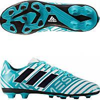 Детские футбольные бутсы Adidas Nemeziz Messi 17.4 FG S77201 682603b3f13c3