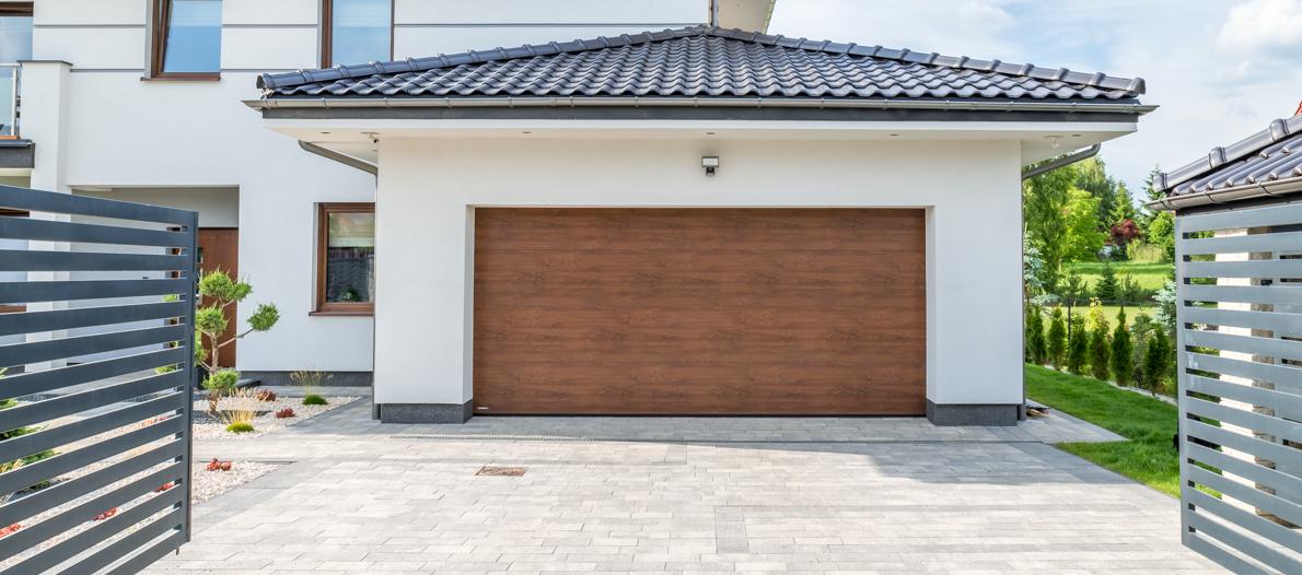 Ворота гаражные секционные Алютех CLASSIC 2800х2000