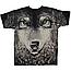 Футболка Волк (зеленые глаза), фото 2