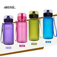 Бутылка для спорта матовая Casno 400 ml.
