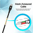 Кабель Promate Cable-LTF Lightning Black, фото 4