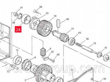 Обойма пластиковая подшипника NICE для ROBO500 верх/низ (PPD0231.4610)
