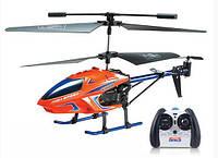 Вертолет на радиоуправлении Model King металлический корпус 23см