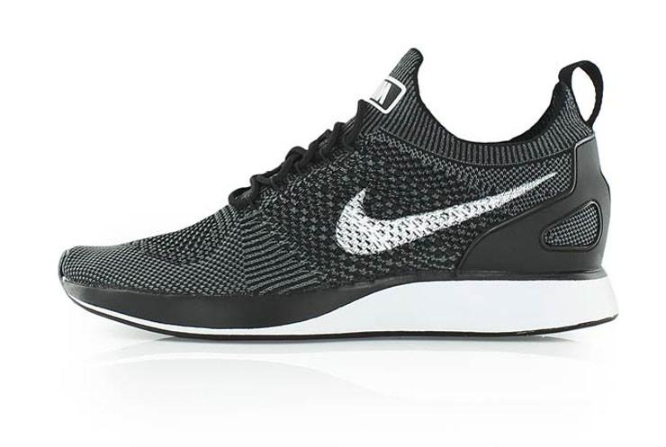 e860205e Мужские кроссовки Nike Air Zoom Mariah Flyknit Racer (Black / White — Dark  Grey)