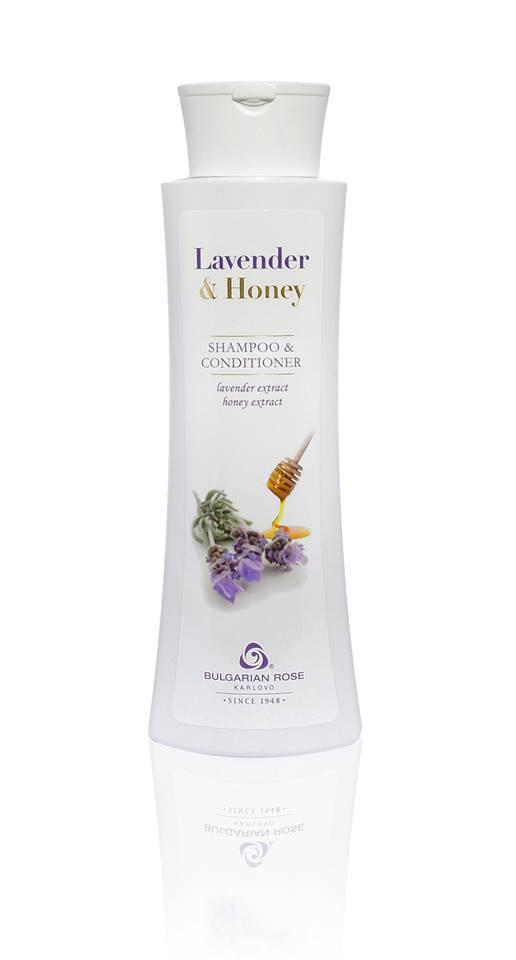 Шампунь-кондиціонер Боларская Троянда Lavender & Honey 400 мл
