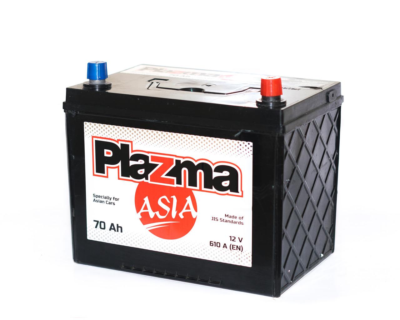 Аккумулятор автомобильный 6СТ-60Ач. 480A. PLAZMA  ASIA