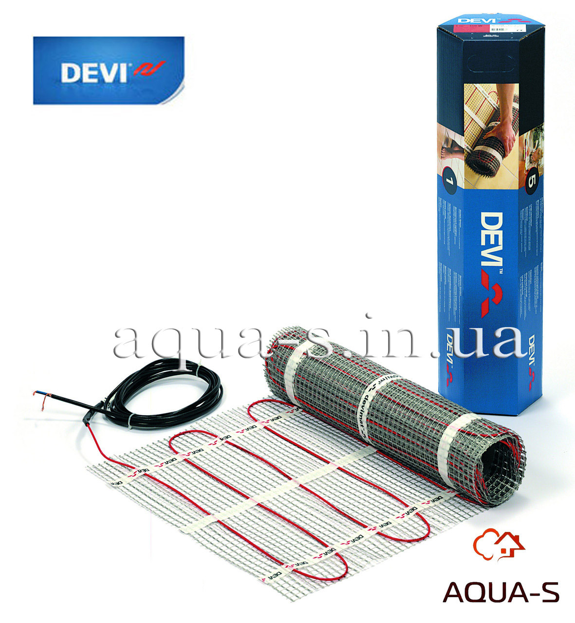 Мат нагревательный DEVI DEVIcomfort 150T (8 кв.м.) 1098 Вт. двухжильный (83030582)