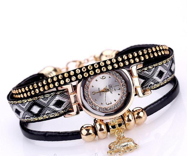 Женские часы браслет с необычным  ремешком