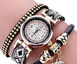 Женские часы браслет с необычным  ремешком, фото 2