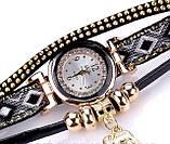 Женские часы браслет с необычным  ремешком, фото 3