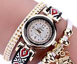 Женские часы браслет с необычным  ремешком, фото 5
