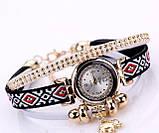 Женские часы браслет с необычным  ремешком, фото 6