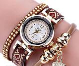 Женские часы браслет с необычным  ремешком, фото 7