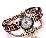 Женские часы браслет с необычным  ремешком, фото 8