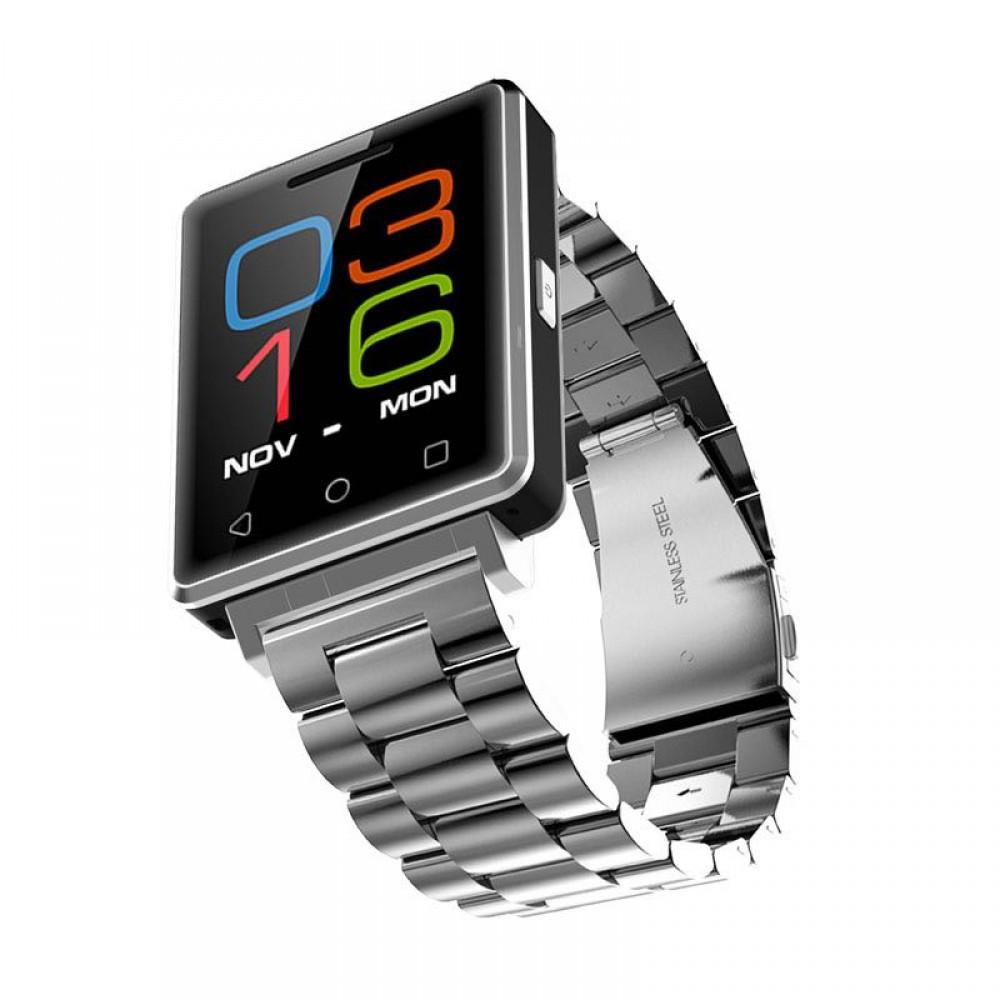 Смарт - часы NO.1 G7 с функцией телефона Silver Steel' ' ' '
