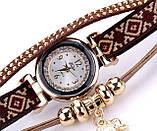 Женские часы браслет с необычным  ремешком, фото 9