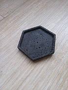 Подставка под кашпо из бетона AZON 100мм, фото 5