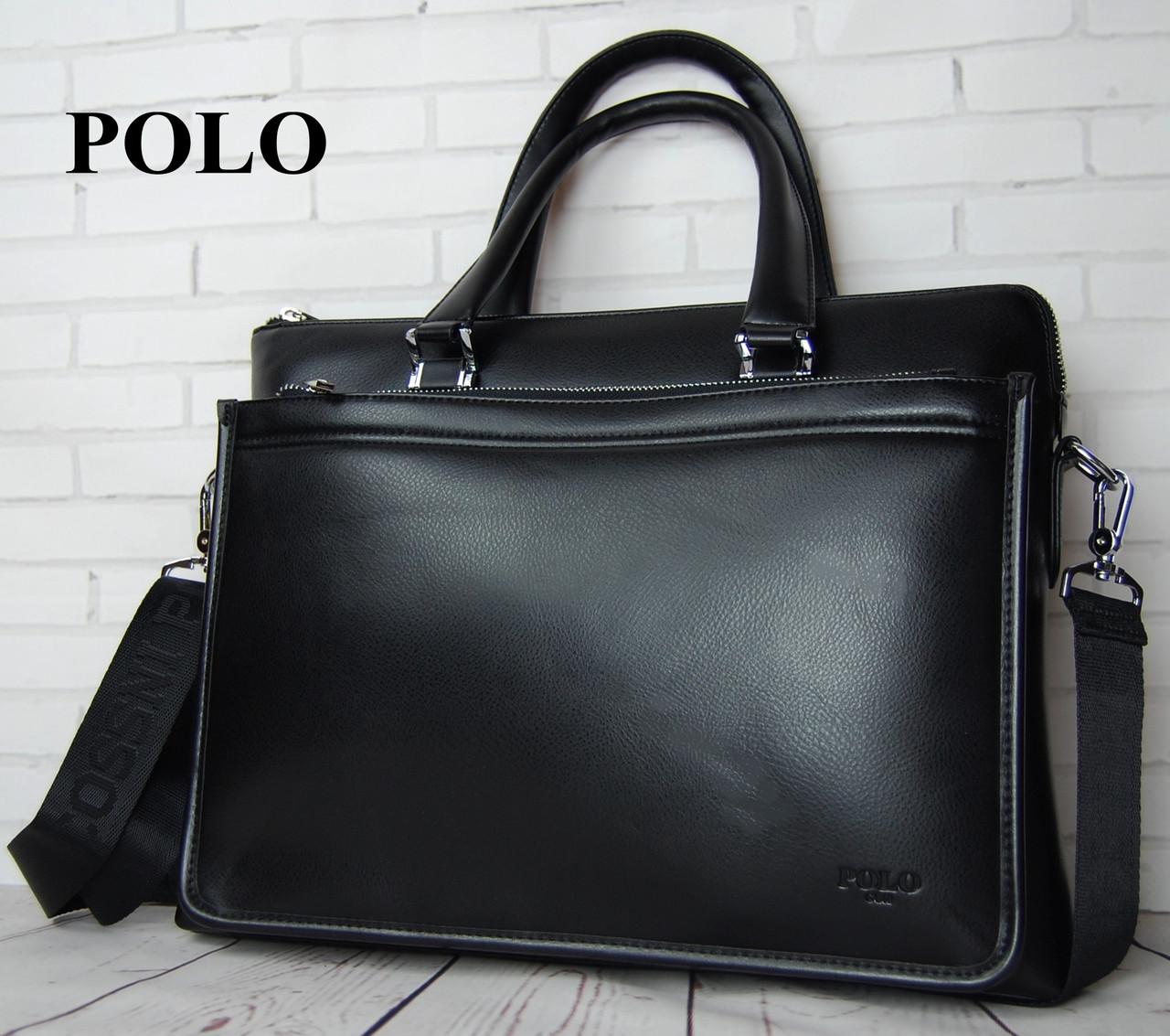 49c684711816 Мужская Сумка-портфель Polo Под Формат А4 Сумка для Документов КС37 ...