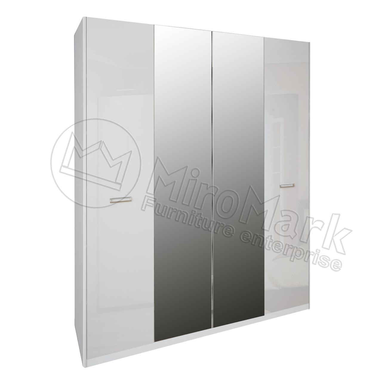 """Шкаф """"Белла"""" 4дв.с зеркалом.Миро Марк."""