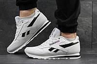 Кроссовки мужские  Reebok Classic белые с чорным 4300