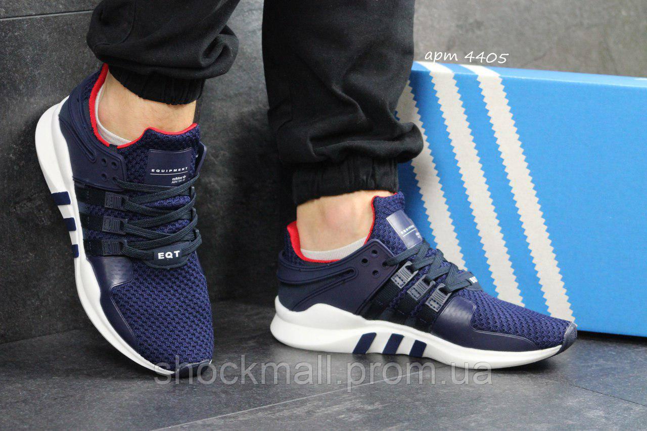 53bca130 Adidas Equipment кроссовки мужские синие для бега Вьетнам реплика -  Интернет магазин ShockMall в Киеве