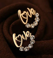 Сережки Love