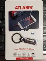 Флеш карта ATLANFA JetFlash USB 2.0 8GB с кольцом