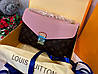 Стильная сумочка LOUIS VUITTON Monogram Canvas Pallas Chain натуральная кожа (реплика)
