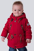 Модная весенняя куртка парка  для мальчика 86, фото 1