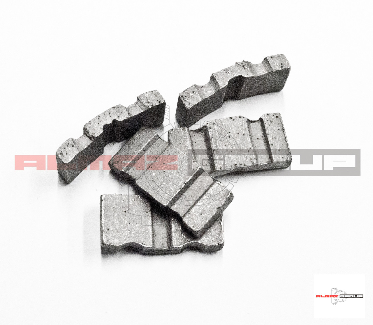 Реставрация алмазных коронок Ø 132 методом напайки сегмента  TURBO-X