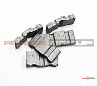 Реставрация алмазных коронок Ø 132 методом напайки сегмента  TURBO-X, фото 1