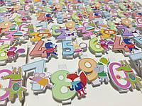 Прищепки цифры набор от 0 до 9