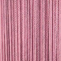 Шторы-нити Букле цвет розовый