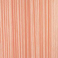Шторы-нити Букле цвет персик