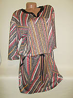 Платье-туника трикотажное