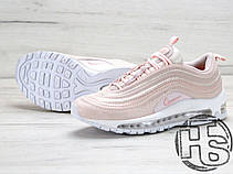 Женские кроссовки реплика Nike Air Max 97 Premium Pink Snakeskin/White 917646-600, фото 3